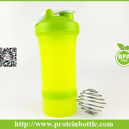 450ml shaker with pill box