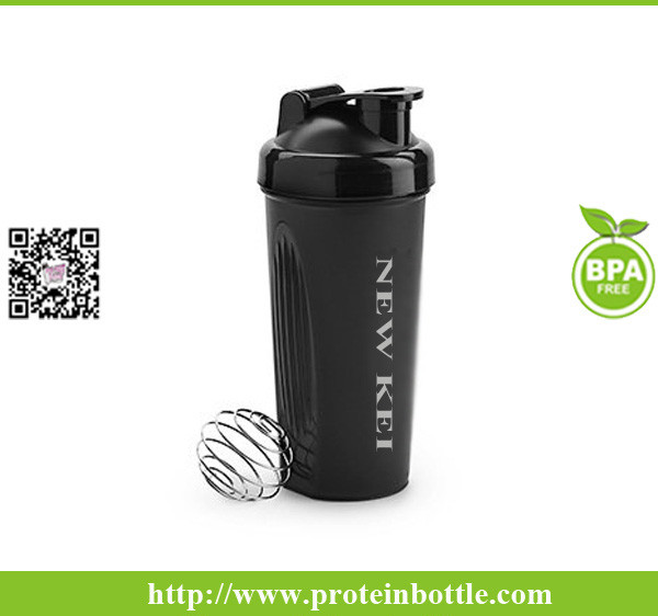 600ML bottle protein shaker
