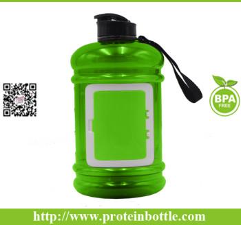 big water bottle